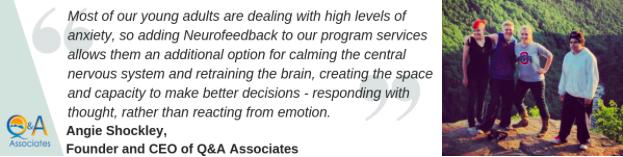 Neurofeedback testimony facility